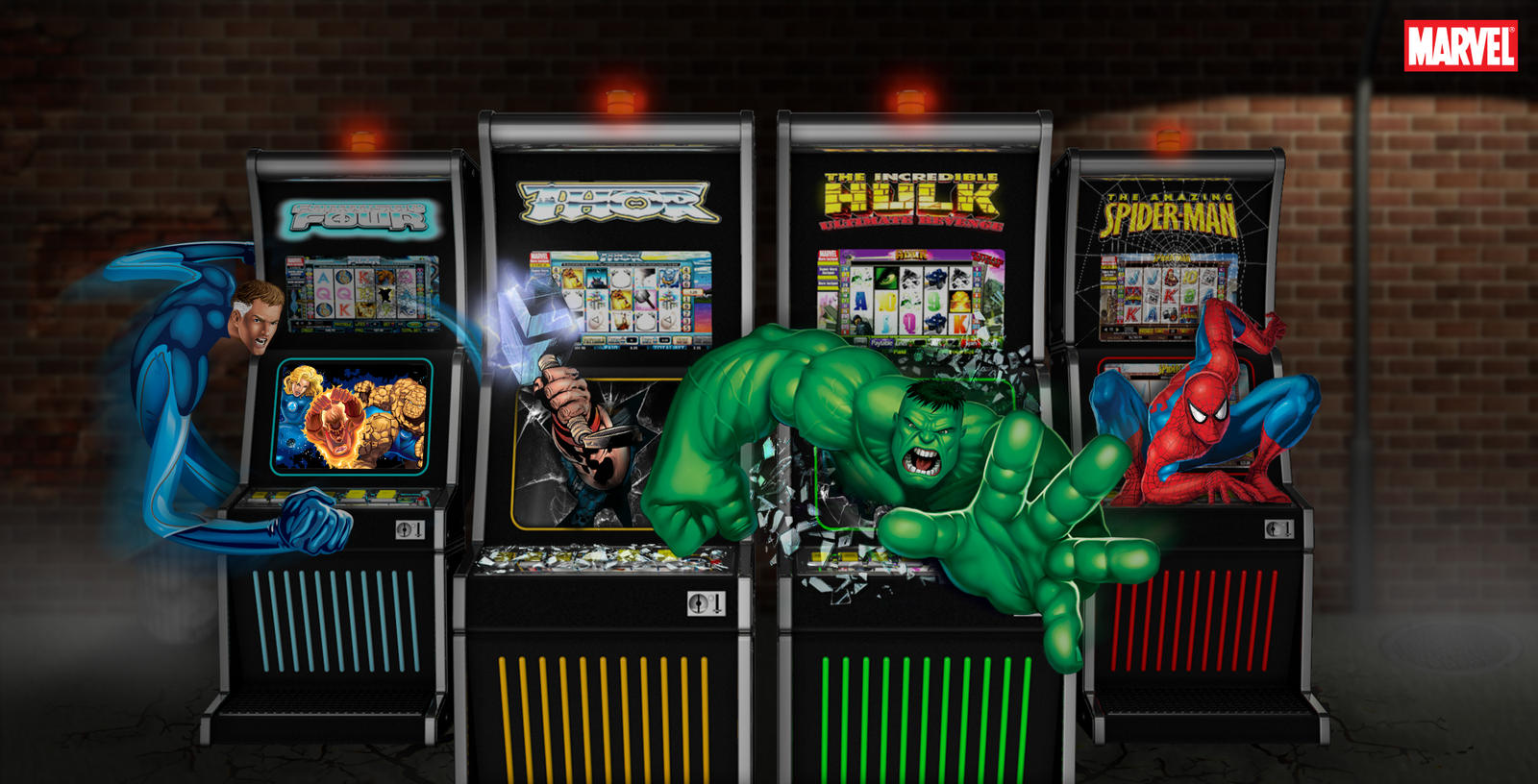 Marvel casino gambling icons free