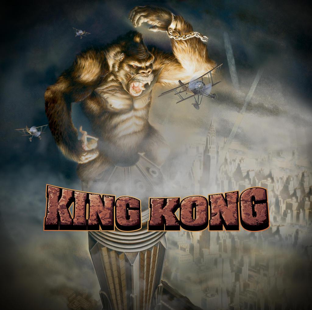 King kong game keyvisual by sivad design on deviantart - King kong design ...