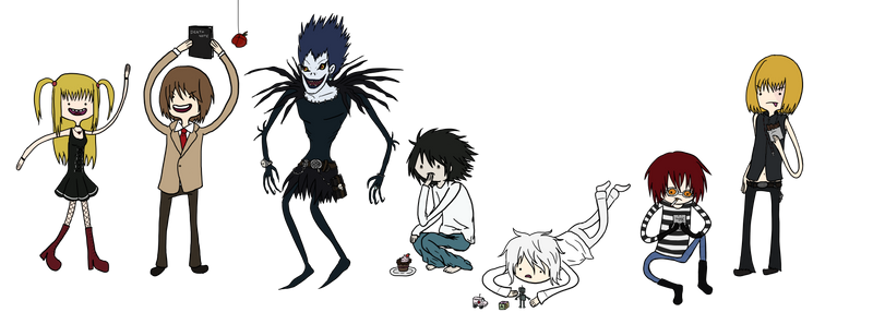 It's Death Note time