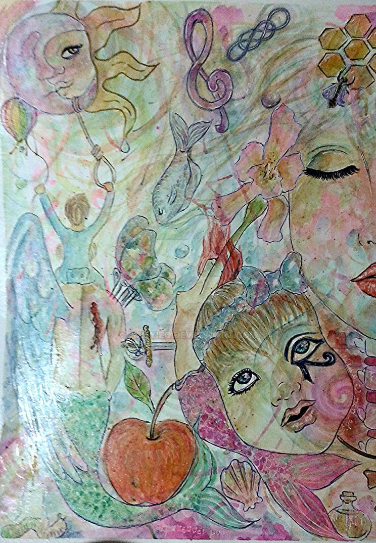 Ghost Love Score I by EMILYIZQ