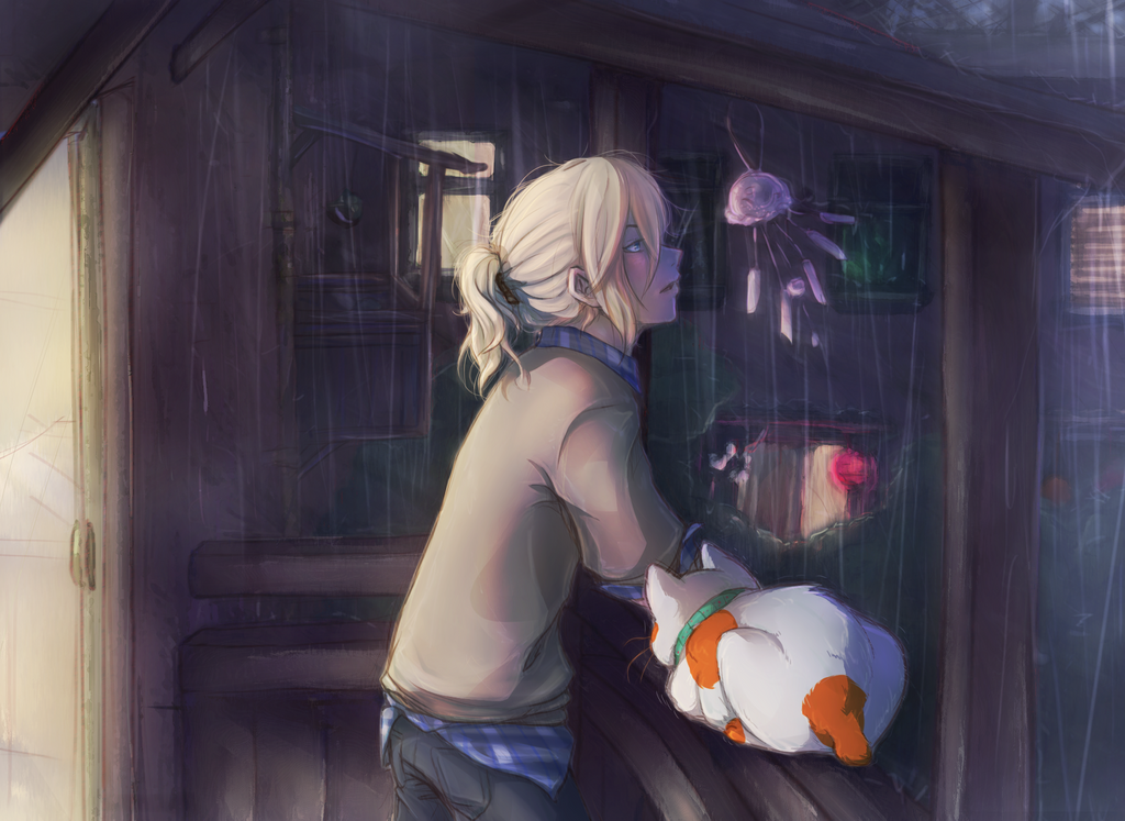 Listen to the Rain by Imp-y