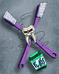 Tooth and Cross Brush