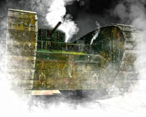 Vickers A5E1 Heavy Steam Tank