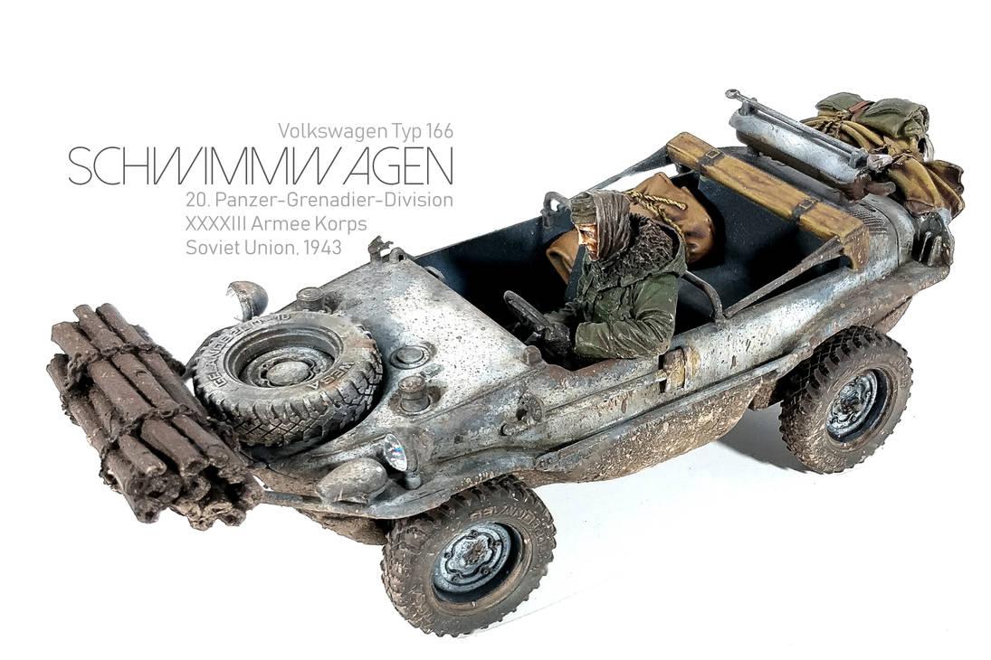 1/35 Italeri VW Typ 166 Schwimmwagen