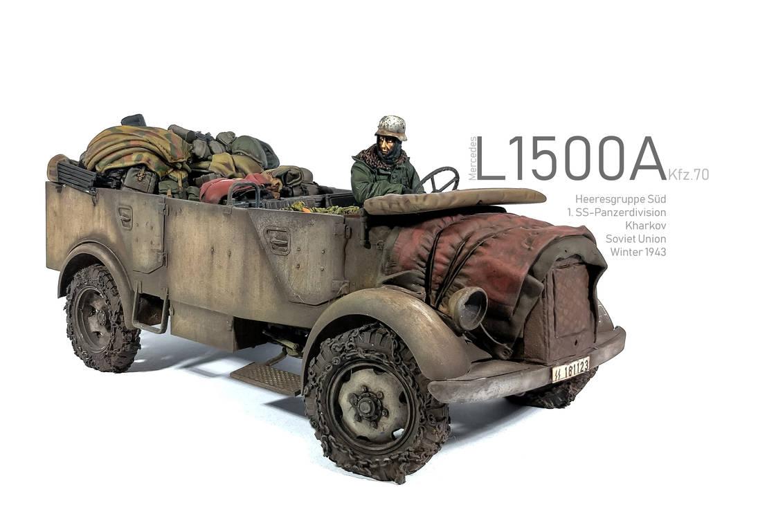 1/35 Miniart Mercedes L1500A Kfz. 70