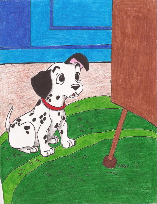101 dalmations puppy pongo by kalynvalcourt