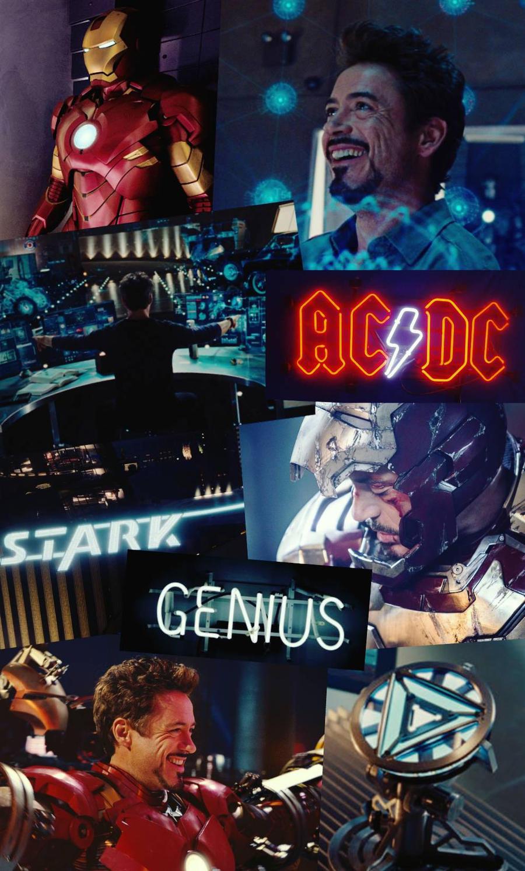 Tony Stark Iron Man Wallpaper Aesthetic By Melinestark On