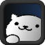 Neko Atsume Blue - App Icon by jDr0id
