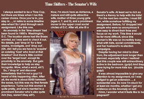 TimeShifters - The Senator's Wife by lornasams