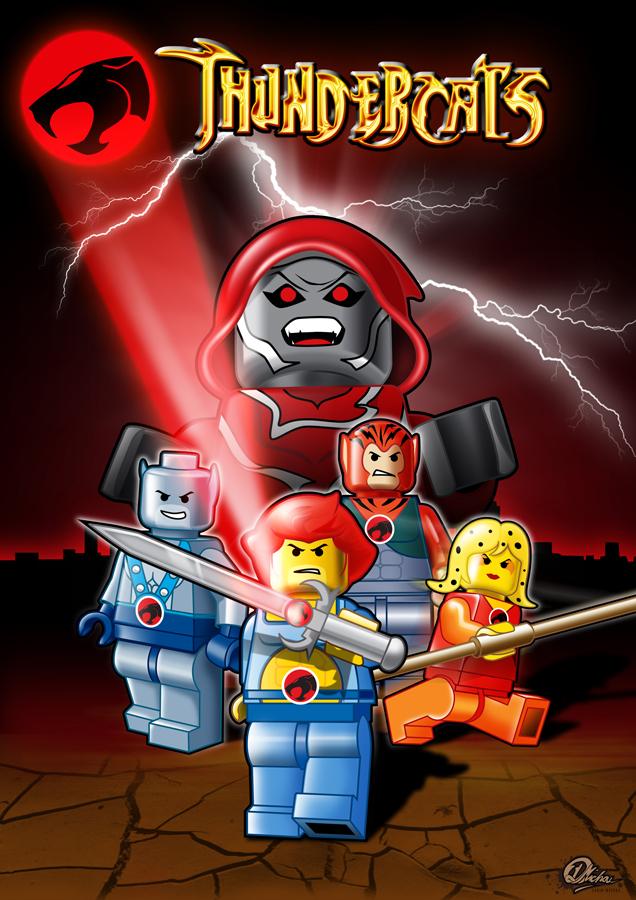 LEGO THUNDERCATS by Area-44