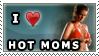I Love Hot moms stamp by Area-44