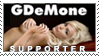 GDeMone Supporter Stamp by Area-44