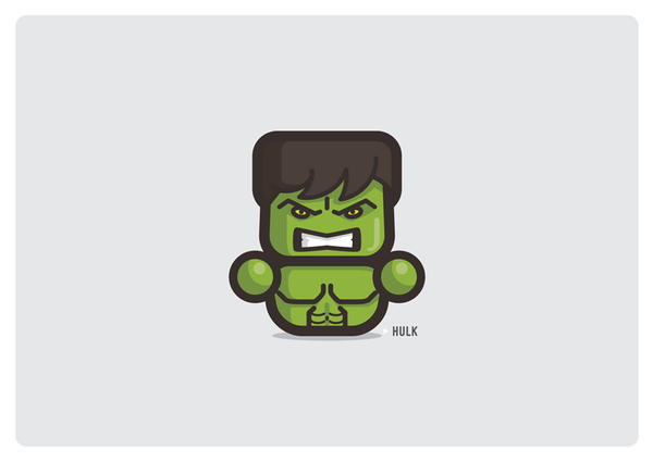 HULK by Area-44