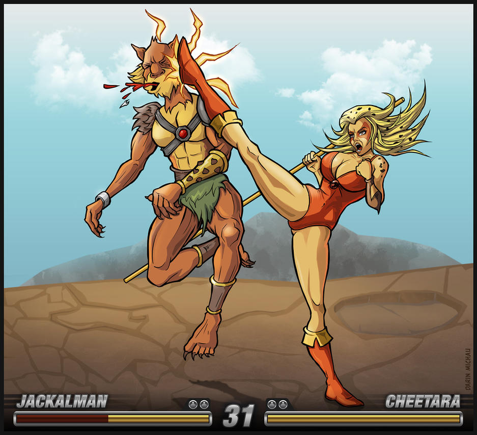 Cheetara takes Charge by Area-44