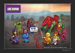 Thunder-punch He-Man Lego