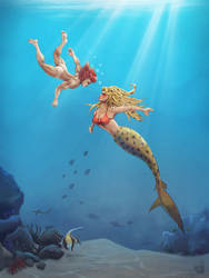 MerMay on 3rd Earth by Area-44