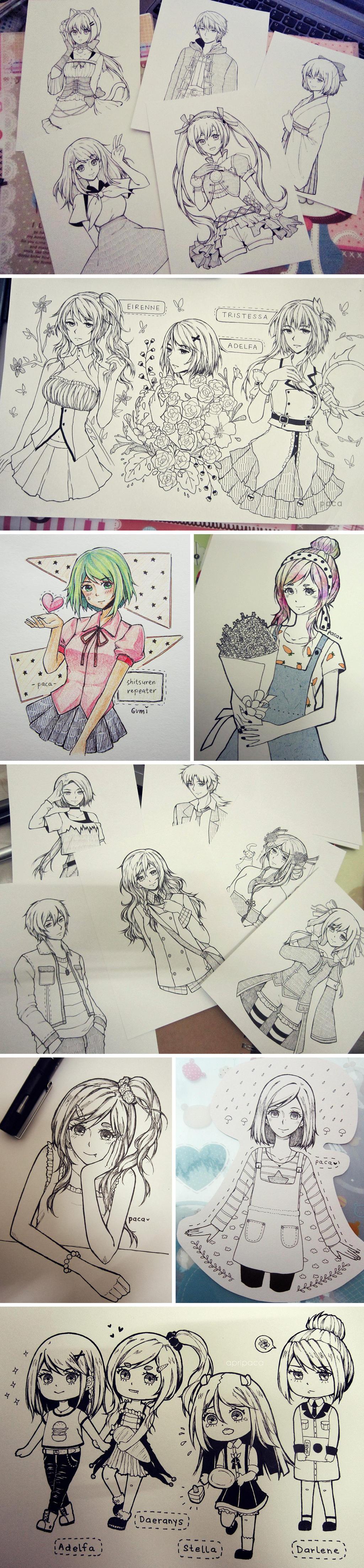 Art Dump 02 by izuriwa