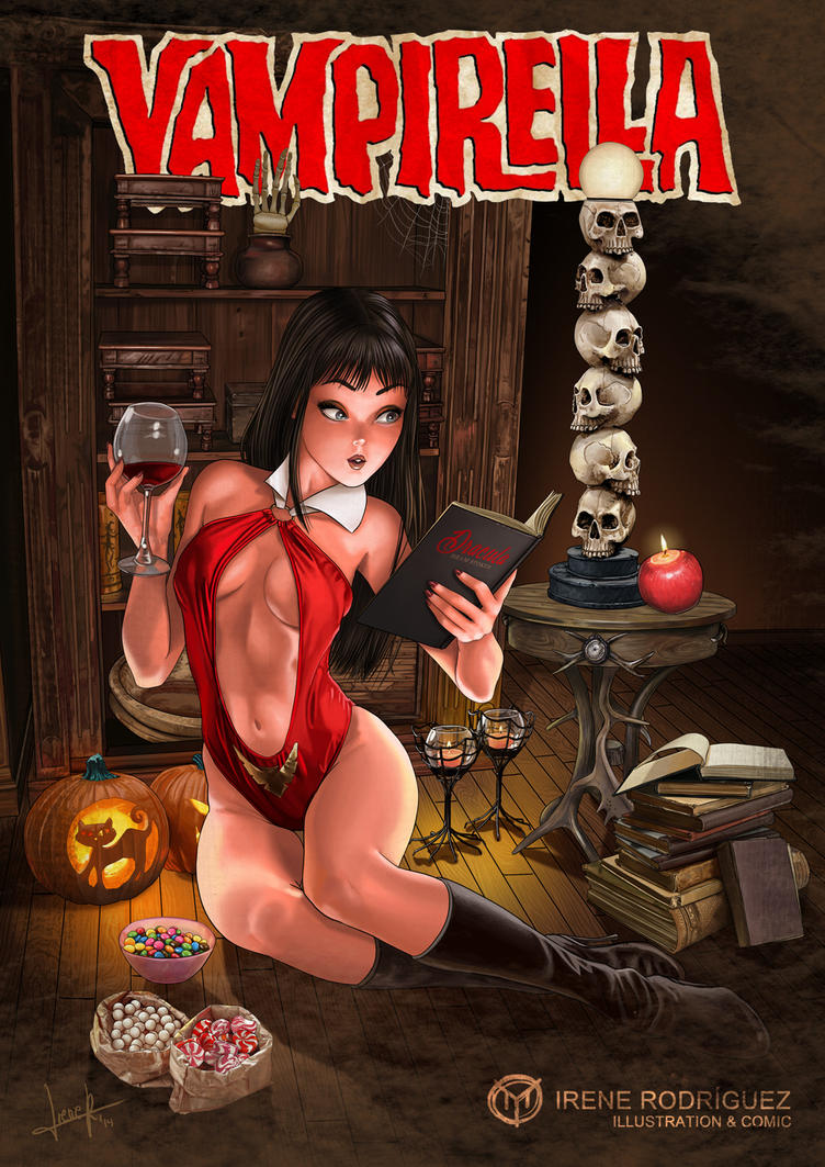 DARK ROOM: Vampirella's Night (cover version) by Yuzu-Manju