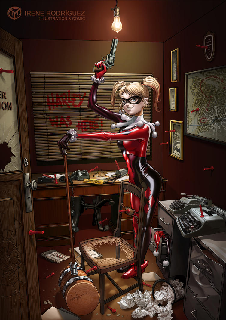 DARK ROOM 02: Harley Quinn's game by Irene-Rodriguez