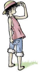 Luffy by qtjene