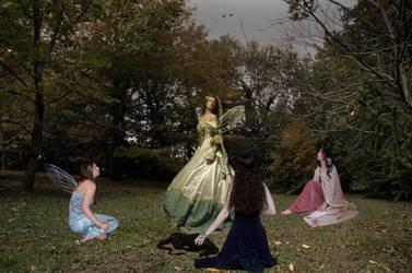Fairy Council by Bamfi