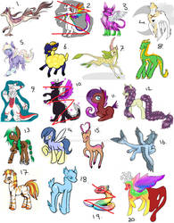 Adoptions For Sale (18 Open)
