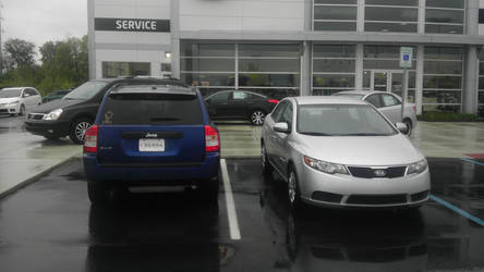 New car and old car 2