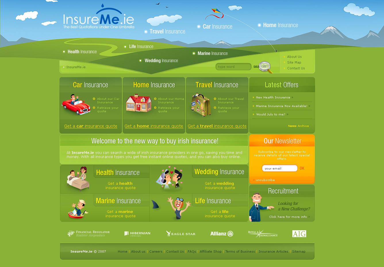 insurances by bratn