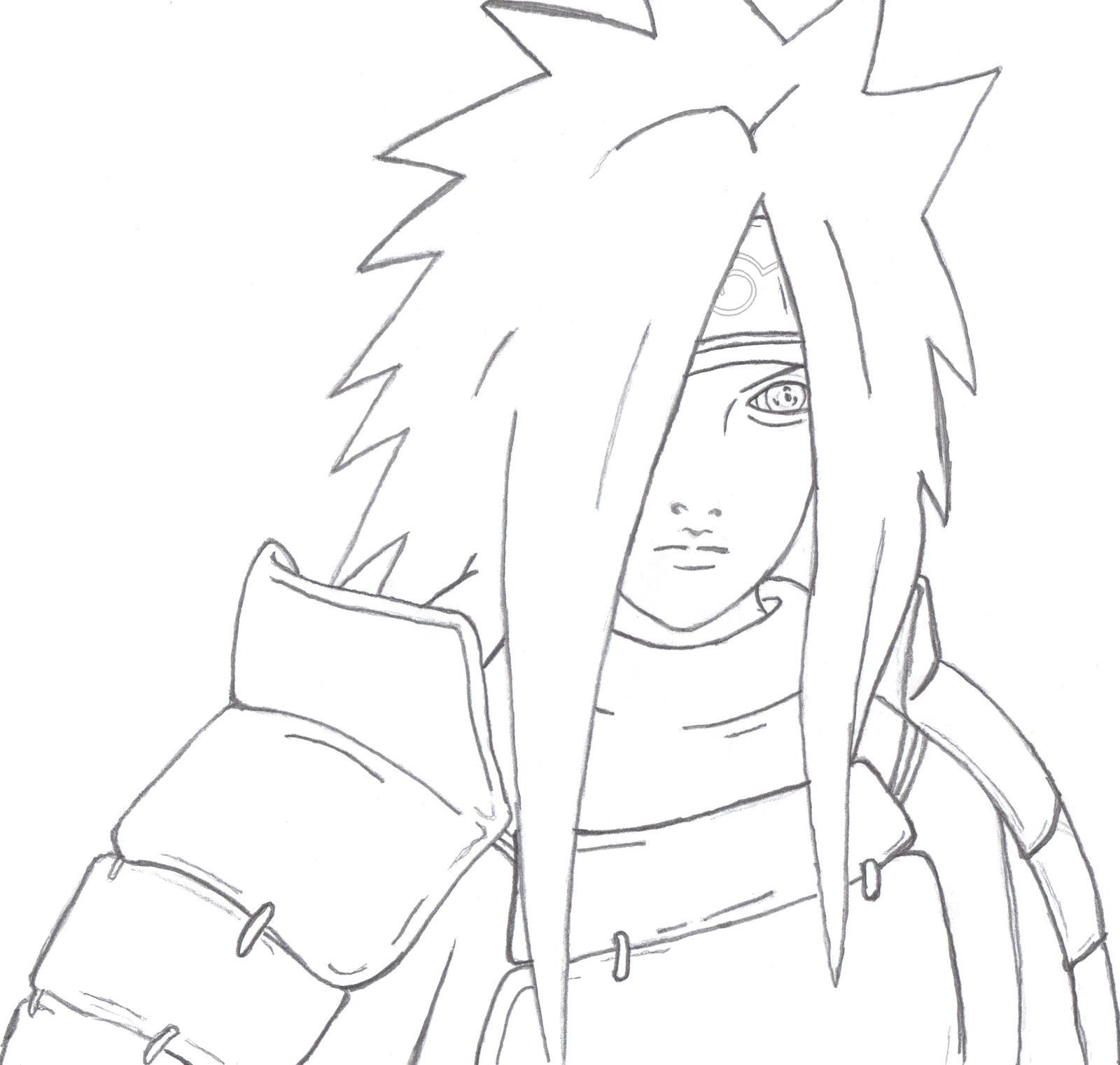 Comment dessiner madara - Comment dessiner madara uchiwa ...