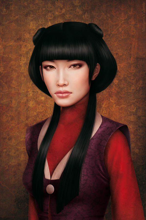 Realistic Painting of Mai by missbennet