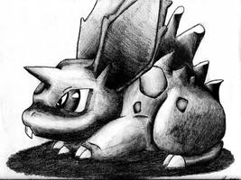 Nidoran -male- by DoubleD626