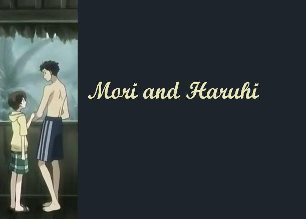 Haruhi and Mori by Mori-x-Haruhi-Club