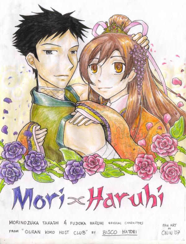 Mori x Haruhi by Mori-x-Haruhi-Club