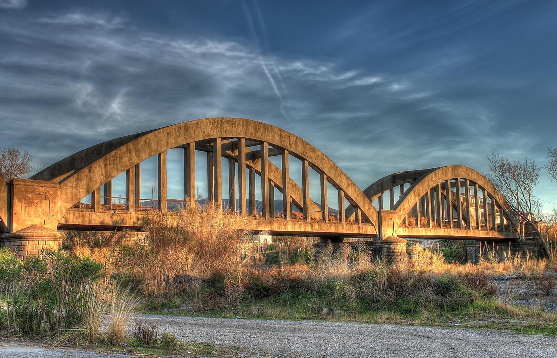 hdr old bridge and - photo #3