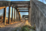 Walk on the old bridge - HDR