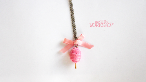Cotton Candy Necklace by SulkyB