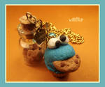 Cupcake cookie monster by SulkyB