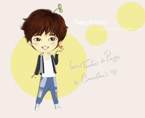 Happy Birthday From Taemin