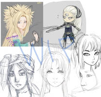 WIPs of the last 6 months...