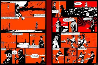 Wanderers comic p. 1-2 by KarlMakesComics