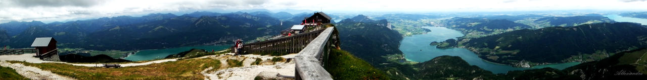 Up on Schafbergspitze
