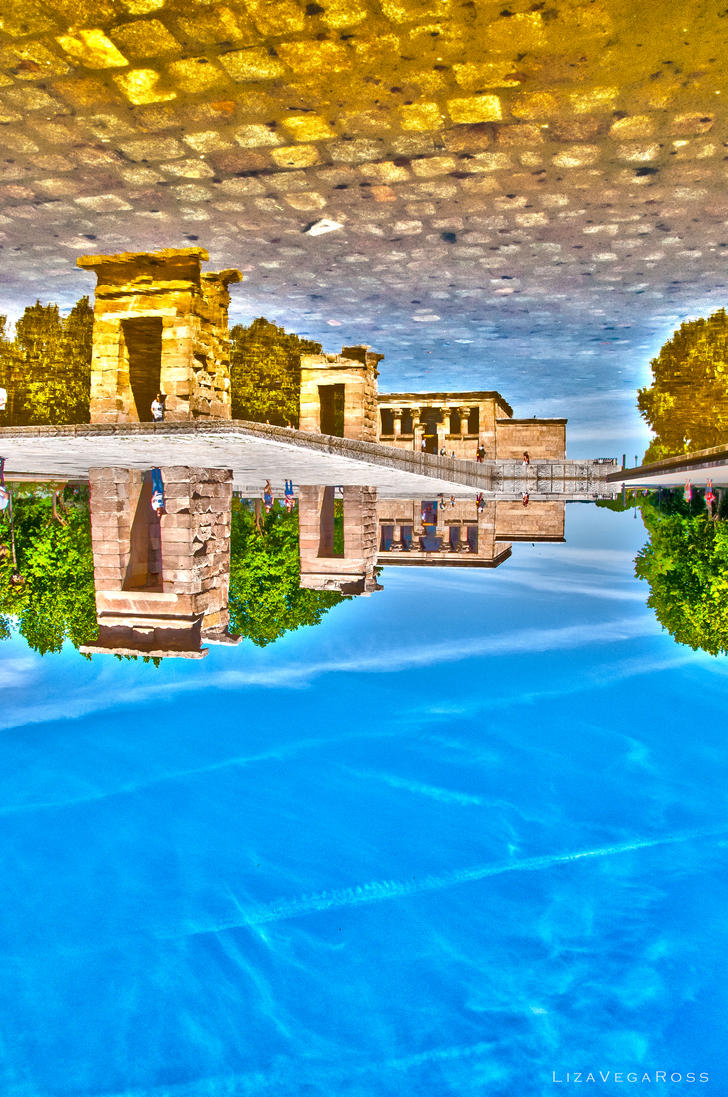 Templo de Debod by lixa111