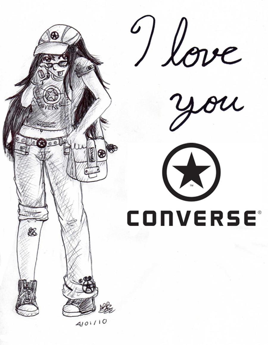 Converse Love You