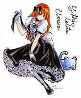 Gothic lolita Elmira by tsubasa-tenshi