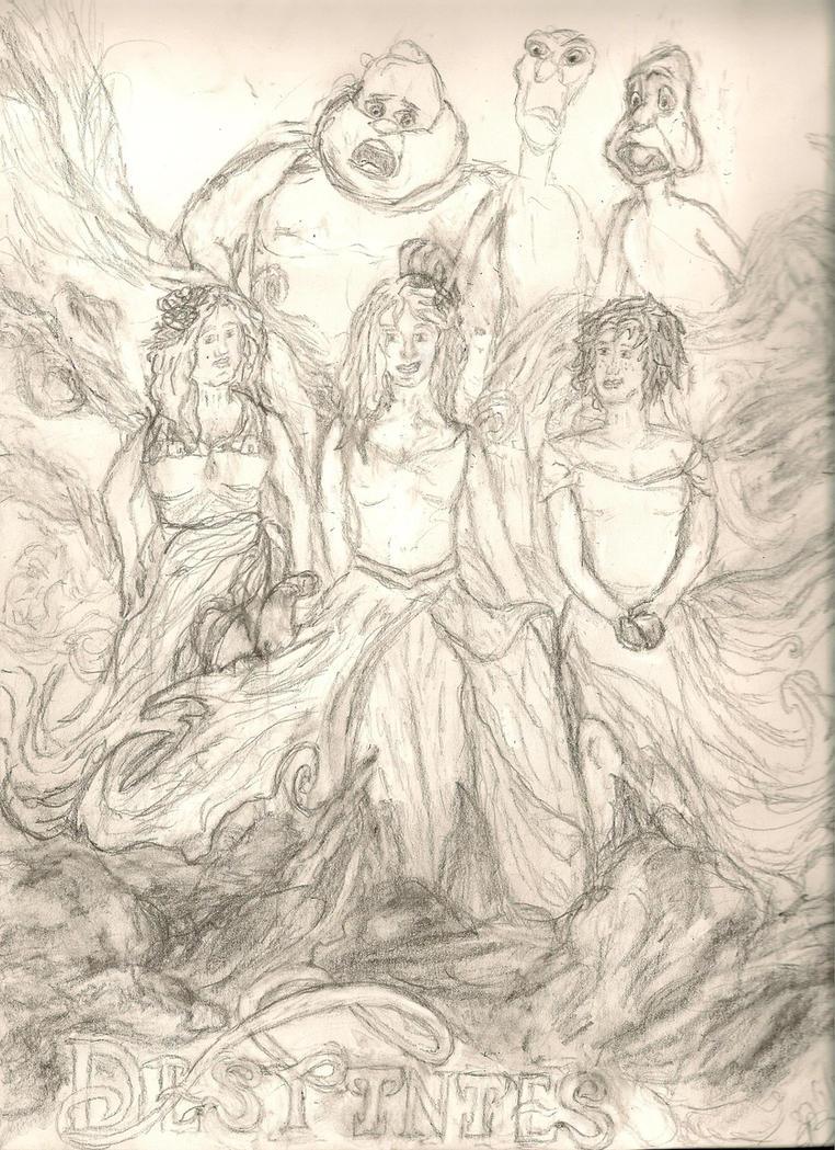 Ouch, Trio Surprise! Women Got De' Edge! by ColorGuardSweetHeart