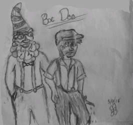 Boc Dee and his Father Doc Dee of the 7-8 D's by ColorGuardSweetHeart