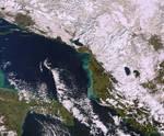AlbaniaKosova Satellite Image