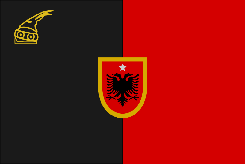 Alt Flag Of Albania By ChRsAlbo On DeviantArt - Albania flag
