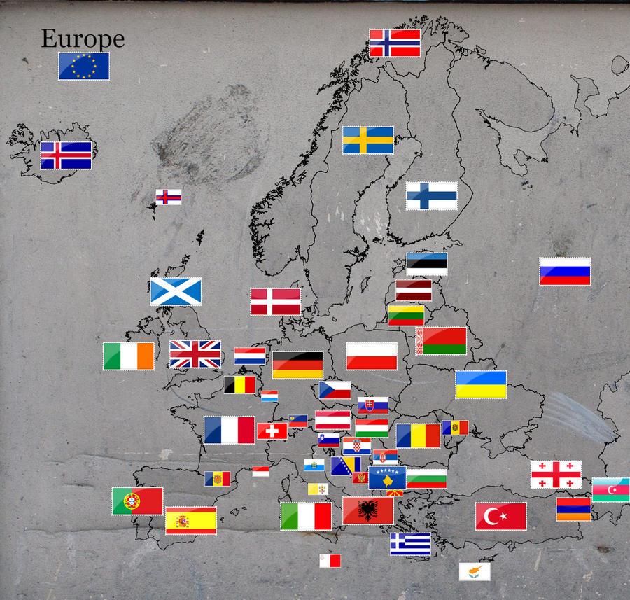 Stamped Europe by ChR1sAlbo