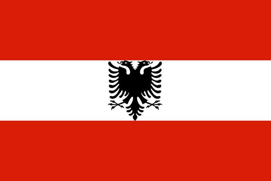 Austrian Albanian Flag By ChRsAlbo On DeviantArt - Albanian flag